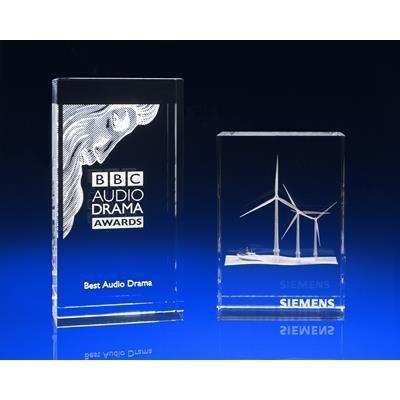 CRYSTAL GLASS VENICE AWARD OR TROPHY AWARD.