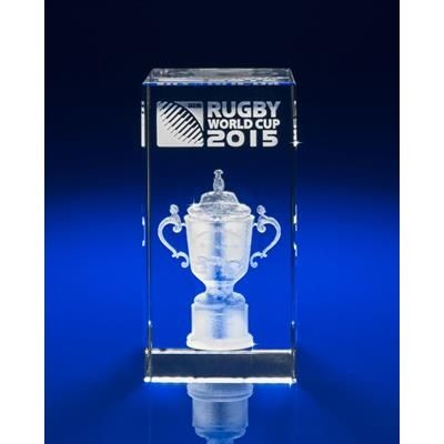 WORLD CUP AWARD OR PAPERWEIGHT GIFT IDEAS ENGRAVED in Glass.