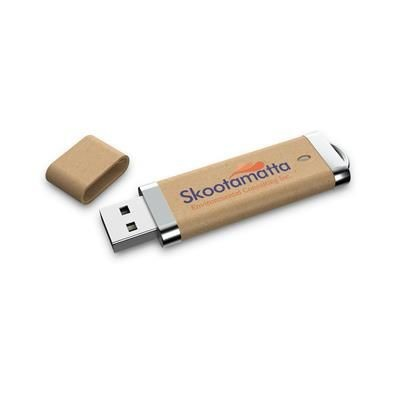 RECYCLED ECO FRIENDLY USB.