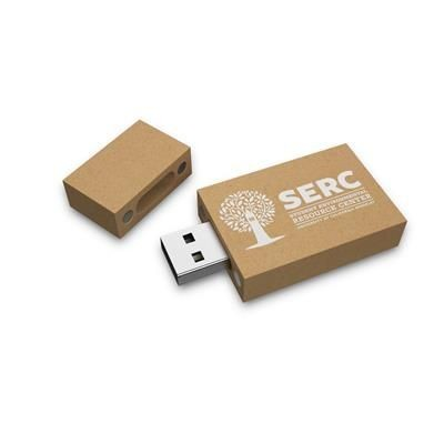 ECO FRIENDLY RECYCLED PAPER USB DRIVE.