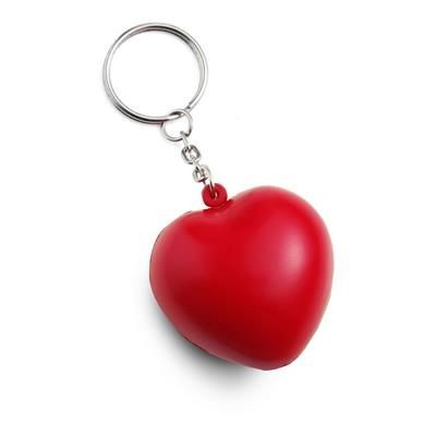 STRESS HEART KEYRINGS.