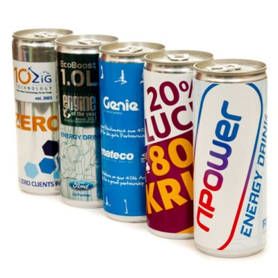 ENERGY DRINK CAN.