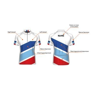 BESPOKE FULLY SUBLIMATED BICYCLE TOP.