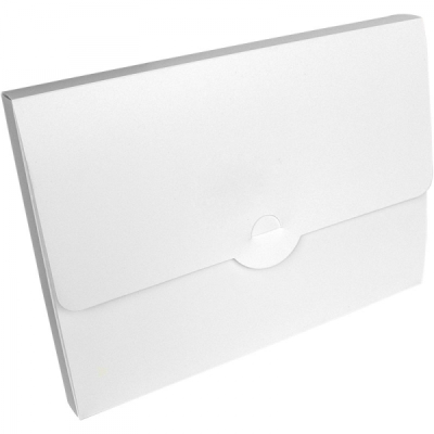 POLYPROPYLENE CONFERENCE BOX in Frosted White.