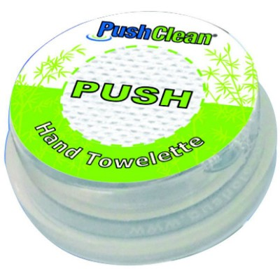 PUSHCLEAN WET WIPE TISSUE PACK.