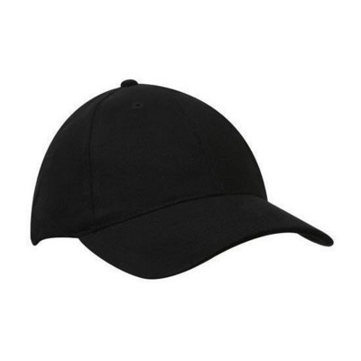 BRUSHED HEAVY COTTON BASEBALL CAP.