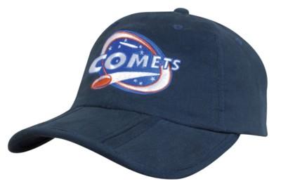 BRUSHED COTTON POCKET BASEBALL CAP.