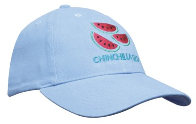 BRUSHED HEAVY COTTON CHILDRENS BASEBALL CAP.