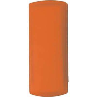 POCKET PLASTER PACK in Translucent Orange.