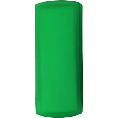 POCKET PLASTER PACK in Translucent Green.