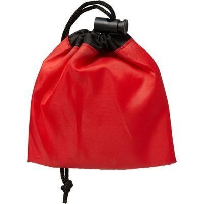 FIRST AID KIT in Drawstring Bag.