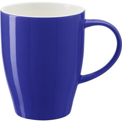 BONE CHINA MUG in Blue.