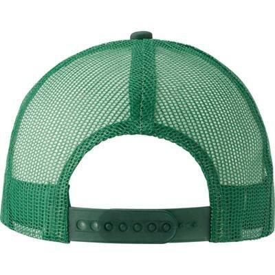 COTTON TWILL AND PLASTIC CAP.