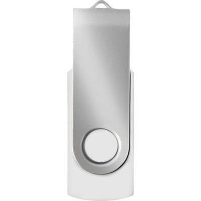 USB DRIVE 16GB in White.