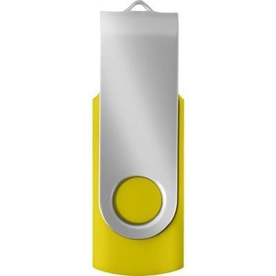 USB DRIVE 16GB in Yellow.