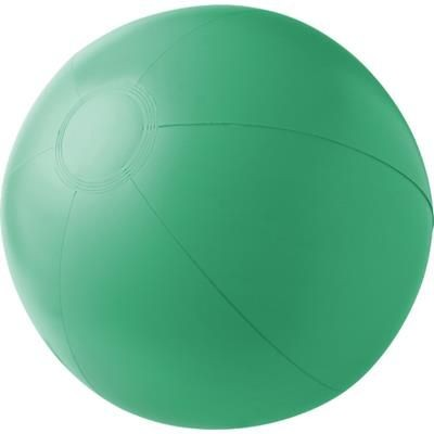 PVC INFLATABLE BEACH BALL in Green.