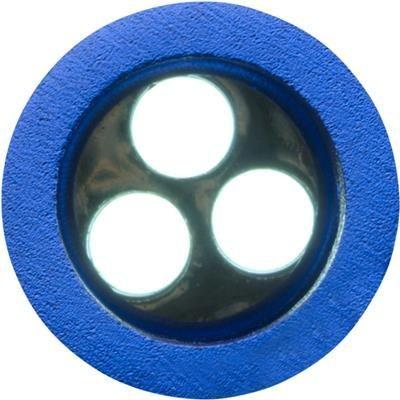 METAL BOTTLE OPENER KEYRING TORCH LIGHT in Cobalt Blue.