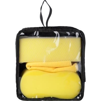 CAR CARE KIT in Yellow.