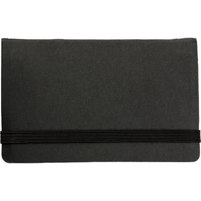 ADHESIVE NOTE PAD SET in Black.
