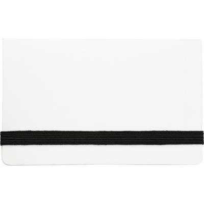 ADHESIVE NOTE PAD SET in White.