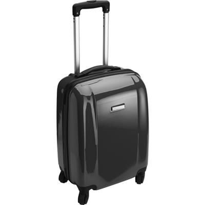 TROLLEY SUITCASE in Black.