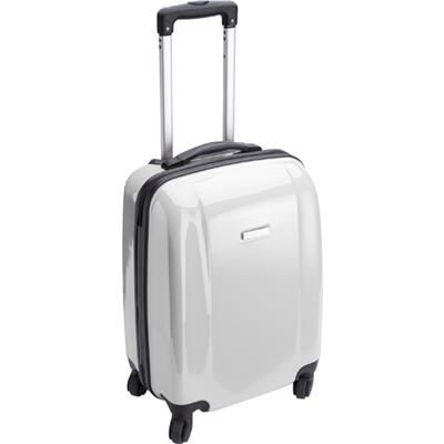 TROLLEY SUITCASE in White.