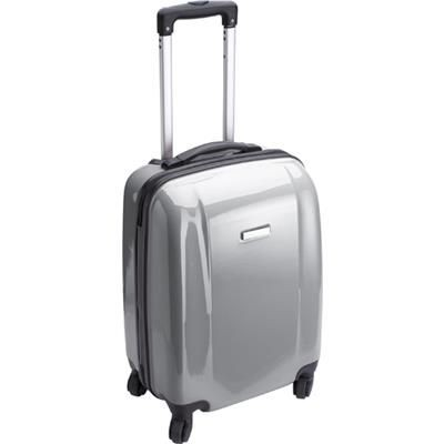TROLLEY SUITCASE in Grey.