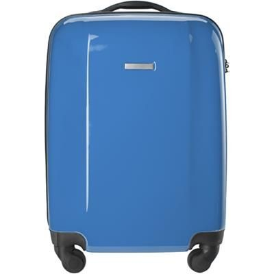 TROLLEY SUITCASE in Cobalt Blue.