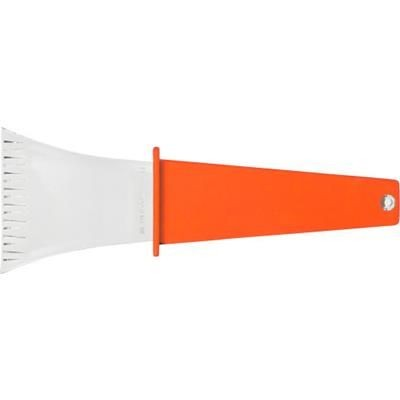 ICE SCRAPER in Orange.