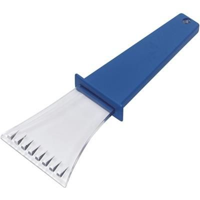 ICE SCRAPER in Cobalt Blue.