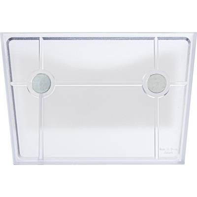 PLASTIC PEN HOLDER & WHITE BOARD in White includes Cleaning Stick, Supplied with Two Magnet on Back.