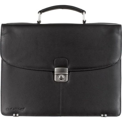CHARLES DICKENS® LEATHER BRIEFCASE.