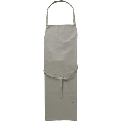 COTTON 180GM APRON in Grey.