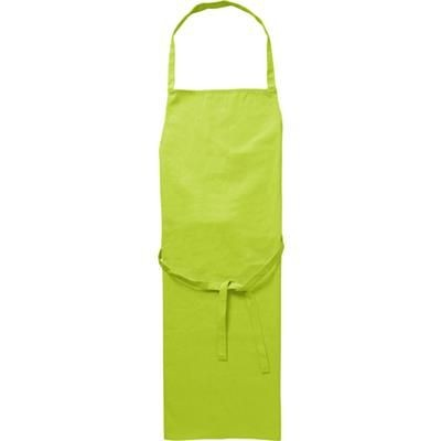 COTTON 180GM APRON in Pale Green.