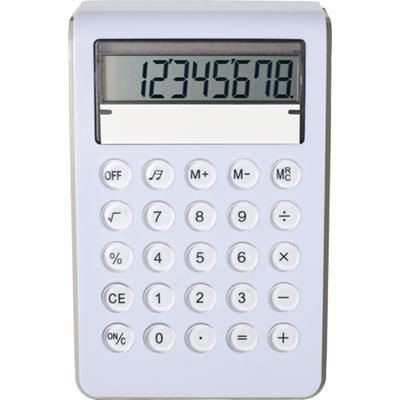 PLASTIC CALCULATOR 8 DIGITS.