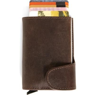LEATHER WALLET with Rfid Card Holder.