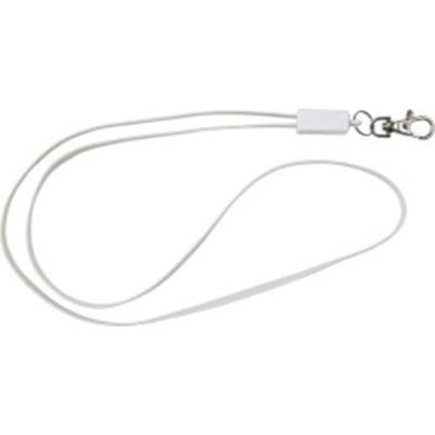 TPE LANYARD AND CHARGER CABLE in One.