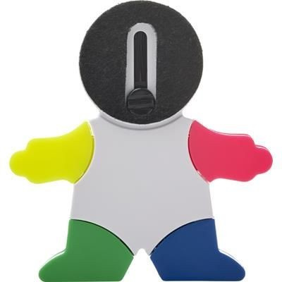FIGURE-SHAPED ABS HIGHLIGHTER.