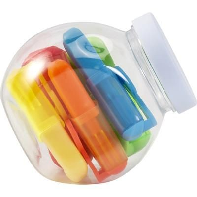 JAR with Highlighters.
