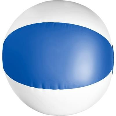 BEACH BALL in Blue & White.
