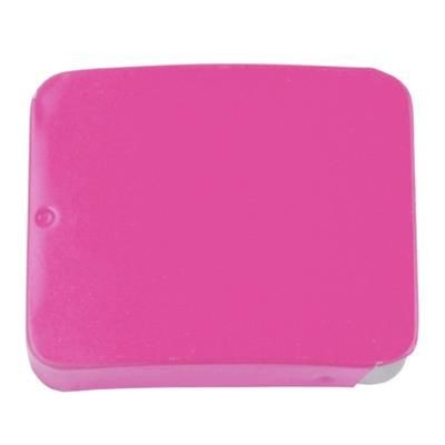 SLIDING TIN with 10g of Extra Strong Mints in Pink.