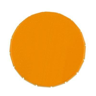 CLICK TIN in Orange.