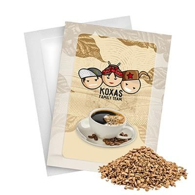 ORGANIC INSTANT COFFEE PORTION.