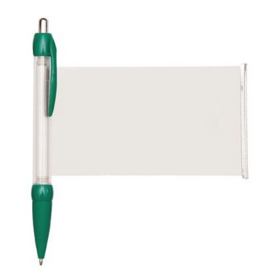 BANNER MESSAGE PEN in Green.