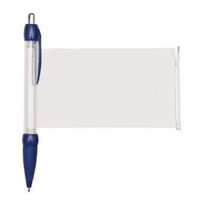 BANNER MESSAGE PEN in Dark Blue.