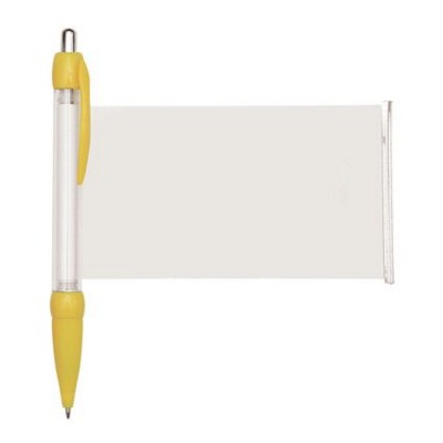 BANNER MESSAGE PEN in Yellow.