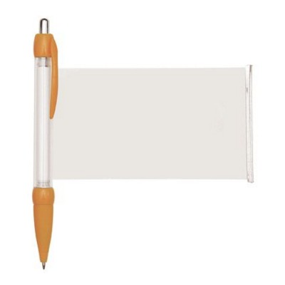 BANNER MESSAGE PEN in Orange.