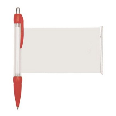 BANNER MESSAGE PEN in Red.