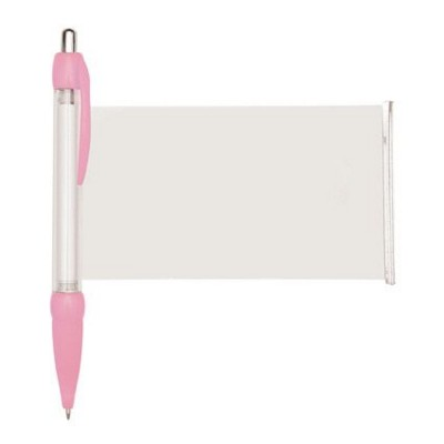 BANNER MESSAGE PEN in Pink.