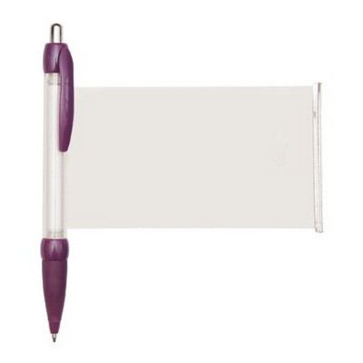 BANNER MESSAGE PEN in Purple.